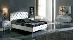 Black Leather Headboard With Diamonds by Bedroom Gorgeous Picture Of Bedroom Decoration Using Pattern