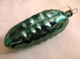 Pickle On Christmas Tree German Tradition by The Pickle Ornament U2013 A Fake Cultural Tradition An American In