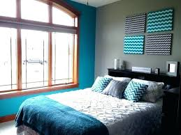 Teal Accent Wall Turquoise And Gray Bedroom Best Walls Ideas On Decor Dining Room