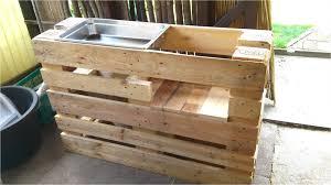 sommerküche bauanleitung outdoor küche selber bauen paletten