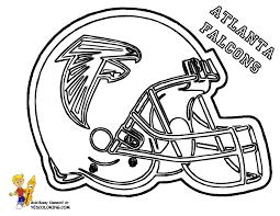 Atlanta Falcons Football Coloring Pages Book Kids