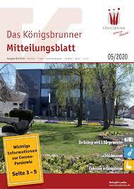 Kã Che Lutz Augsburg Das Königsbrunner Mitteilungsblatt