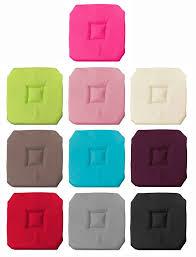 galette de chaise 43x43 déco de maison luminaires matériel coiffure linge de maison