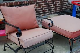 Patio Furniture With Hidden Ottoman by Craftyc0rn3r Patio Furniture Reupholstering