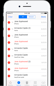 Delete the call history on your iPhone Apple Support