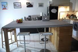 ilot cuisine palette déco ilot de cuisine palette 17 caen ilot de cuisine ilot de