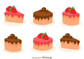 Stawberry And Choco Cake Slice