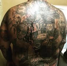 Mayweathers Home Arena Is The MGM Grand In Las Vegas Which This Tattoo Illustrates