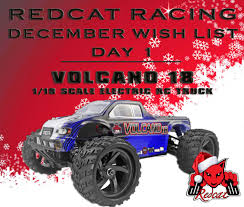 Redcat Racing December Wish List - Day 1 - Volcano 18 1/18 Scale ... Redcat Racing Volcano Epx Volcanoep94111rb24 Rc Car Truck Pro 110 Scale Brushless Electric With 24ghz Portfolio Theory11 Rtr 4wd Monster Rd Truggy Big Size 112 Off Road Products Volcano Scale Electric Monster Truck Race Silver The Sealed Bearing Kit Redcat Lego City Explorers Exploration 60121 1500
