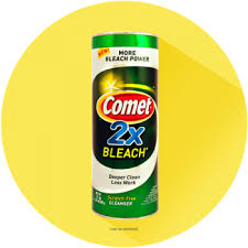 comet household cleaning products kitchen bathroom floor glass
