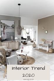 interior trend 2020 beige natürliches wohnen stil