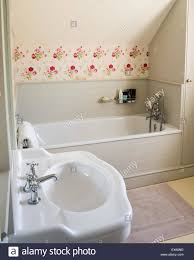 Cath Kidston Wallpaper In Simple Cottage Bathroom Stock, Simple ... Fuchsia And Gray Bathroom Wallpaper Ideas By Jennifer Allwood _ Funky Group 53 Bold Removable Patterns For Small Bathrooms The Astonishing Shabby Chic For Country Vintage Of Bathroom Wallpaper Ideas Hd Guest Decor 1769 Aimsionlinebiz Our Kids Jack Jill Reveal Shop Look Emily 40 Best Design Top Designer Hunting 2019 Dog