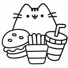 Cute Sushi Coloring Pages