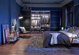 schlafzimmer wandfarbe blaugrau caseconrad