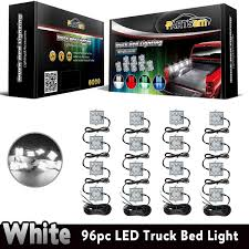 100 Truck Bed Lighting System Amazoncom Partsam 4PCS 16Pods LED Kit Rear Work