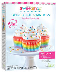 Sweetshop Under The Rainbow Cupcake Kit Mix