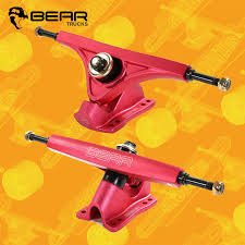 100 Bear Longboard Trucks Kodiak Red 45 160mm Freeride Sk8bites