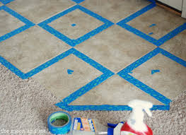 the moon and me painting a tile floor tips and grumbles