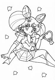 Sailor Moon Coloring Books To Print For Free