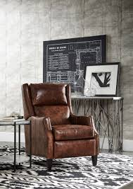 Bradington Young Leather Sectional Sofa by Thomas Recliner With Articulating Headrest By Bradington Young