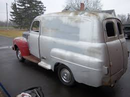 100 1952 Chevy Panel Truck 89 Ford 1 Ton 1954