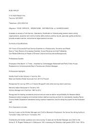 Magnificent Kitchen Manager Resume Sample Contemporary