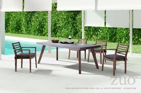 Zuo Modern Son Outdoor Dining Set With Sancerre Dining Chairs ... Klaussner Outdoor Delray 7piece Ding Set Hudsons Breeze Ding Chair Alinum Frame Harbour Suncrown Brown Wicker Fniture 5piece Square Modern Patio To Enjoy Lovely Warm Summer Awesome Patio Quay Chair By King Living Est Living Design Directory Room Charming Image Of For Hampton Bay Belcourt Metal With Walmartcom Bilbao Five Piece Falster Ikea I Love The Looks Of This Outdoor Ding Set Table 10 Easy Pieces Chairs In Pastel Colors Gardenista
