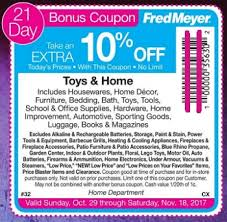 Fred Meyer Christmas Trees by Fred Meyer Holiday And Toy Sale 2017