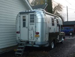 Its An Avion Pickup Camper Posing As Airstream I Still Like