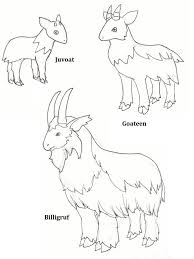How To Draw A Billy Goat Step By