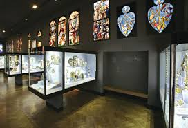 False Wall Display In The Whiteley Sacred Silver