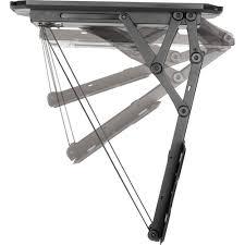support tv au plafond support tv pour plafond 58 4 cm 23 139 7 cm 55 inclinable
