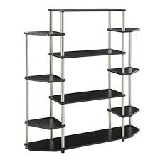 Convenience Concepts Designs2Go Wall Unit Bookshelf Black