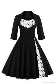 2017 plus size s 5xl audrey hepburn vintage style casual dresses