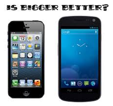 Apple s 4 Inch iPhone 5 vs Android 4 Inch Plus Devices – Tech pinions