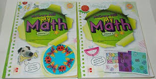 Mcgraw Hill Desk Copy by My Math Volumes 1 And 2 For Grade 4 By Mcgraw Hill By Mcgraw Hill