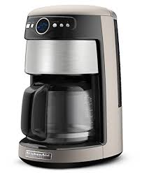 KitchenAid KCM222CS Silver And Stainless Steel Front Coffee Maker 14 Cup Architect Series