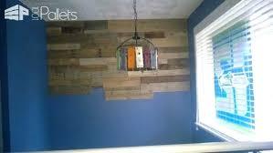 Pallet Wood Ceiling Reclaimed Wall Walls Doors Design