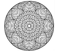 Incredible Inspiration Mandalas Coloring Pages 498 Free Mandala For Adults