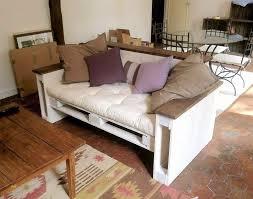 fabriquer un canapé en bois canapé en palette de bois luxe canape bois palette avec 30 id es