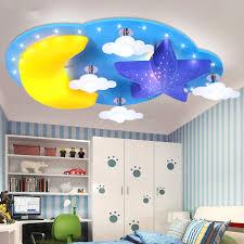 kreative sterne mond kinderzimmer schlafzimmer decke le led jungen und mädchen schlafzimmer beleuchtung