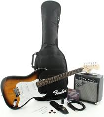 Squier Affinity Strat Pak SSS With Frontman 10G Amp