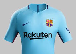 fc barcelone 2018 maillot exterieur nike maillots foot actu