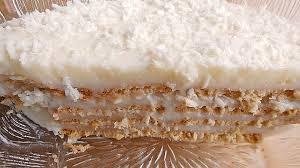 3er kuchen mit pudding und butterkeks