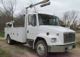 1993 Freightliner FL70 Service Truck With Crane | Item L1807... 2015 Used Freightliner Business Class M2 106 Extra Cab22 Jerrdan Busineclassm2106 United States 50769 2006 2018 M2132 Extended Cab Single Axle Bailey Western Star Flatbed Tow Wrecker Truck Sale Vulcan V100 Heavy Duty Miller Industries Custom Build Woodburn Oregon Fetsalwest Rollback Equipment Hauler For By Carco Bed Options Detroit Sales New And Commercial Dealer Lynch Center Trucks Salefreightlinerm2 4 Car Carriersacramento Ca Metro Towing 2016 Coronado Sd 65 Ton Rotator Youtube