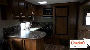 Travel Trailer Floor Plans Rear Kitchen by Campkin U0027s Presents 2016 Avenger 28rks By Prime Time Rear Kitchen