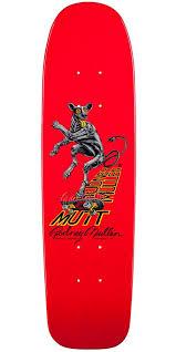 Powell Peralta Tony Hawk Skateboard Decks by Powell Peralta Bones Brigade Rodney Mullen Mutt Reissue Skateboard