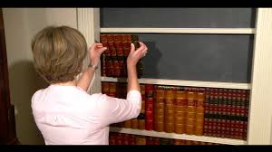 Vintage Books For Decoration by Faux Books How To Make A Faux Book Secret Door Youtube