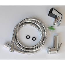 badezimmer bidet hygienedusche kit spray chrom toliet