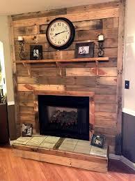 diy pallet fireplace 101 pallet ideas organize your home